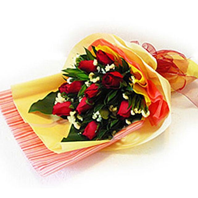 Enchanting Bouquet of Roses: Send Rakhi to Malaysia