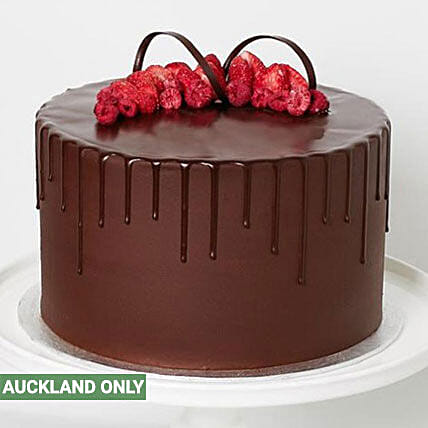 3 Layer Dark Chocolate Cake Delivery In New Zealand