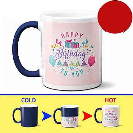 Birthday Special Color Changing Mug Gifts To Philippines