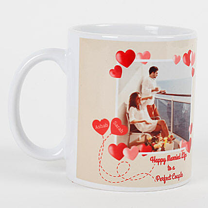 Perfect Love Personalized Mug: Bhai Dooj Gift Delivery in Singapore