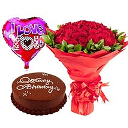 Clic Birthday Collection Flower And Cake Delivery In Dubai Flowers To With Express Ferns N Petals