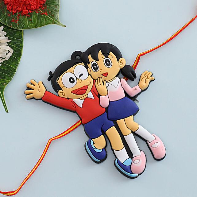 Nobita Shizuka Kids Rakhi: