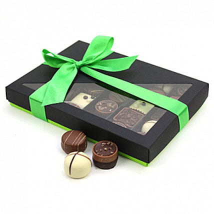Box Of Assorted Belgian Chocolates30: Send Bhai Dooj Gifts to UK