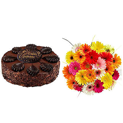 Birthday Treat Flower And Cake Delivery In USA