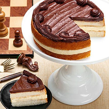 Boston Cream Cake Send Cakes To USA