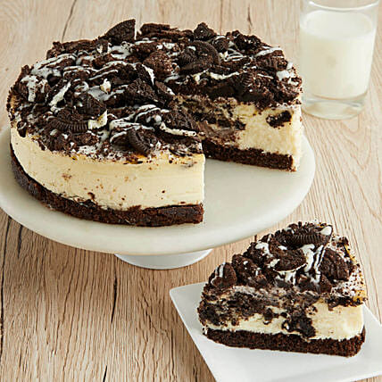 Cookies And Cream Cheesecake Cake Delivery In USA