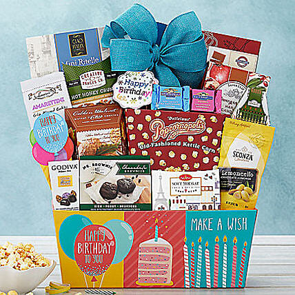Happy Birthday Basket Gift Delivery In New Jersey