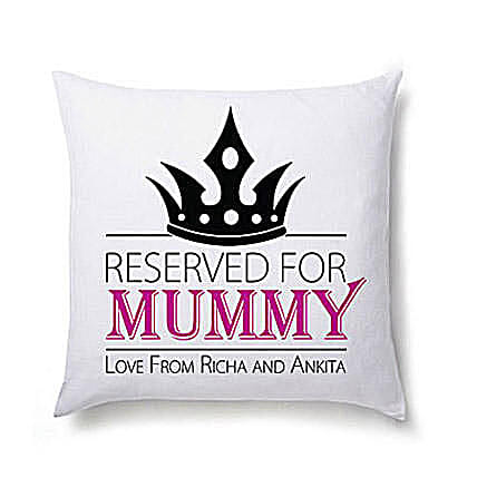 Lovely Personalized Cushion For Mom Birthday Gifts To USA