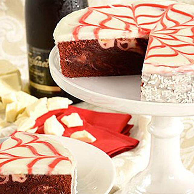 Red Velvet Brownie Cake Send Cakes To USA