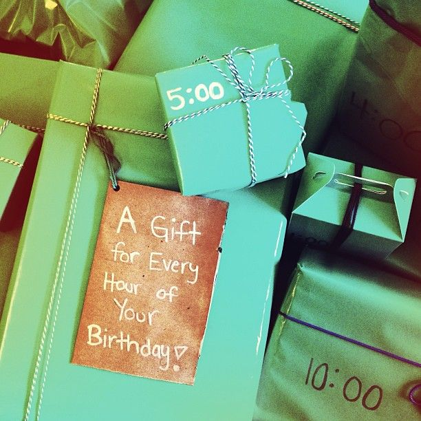Hourly Gifts