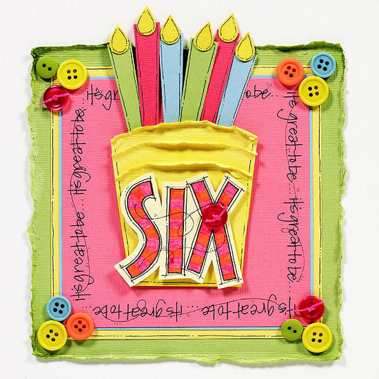 Birthday Cake Card - DIY