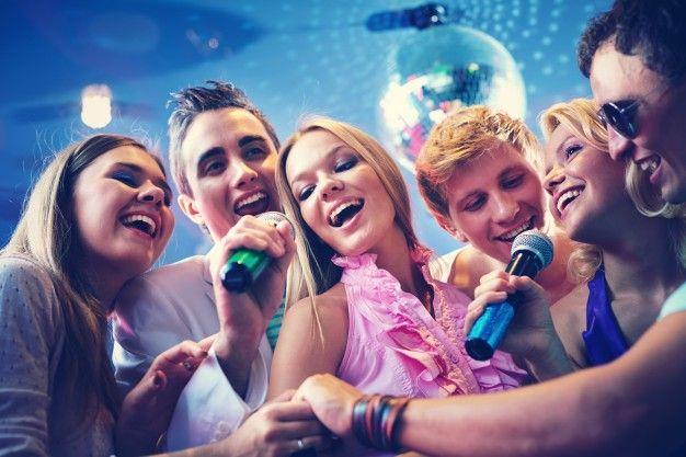 Karaoke with Besties