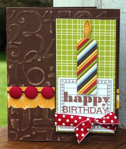 Scrapbook Birthday Card - DIY
