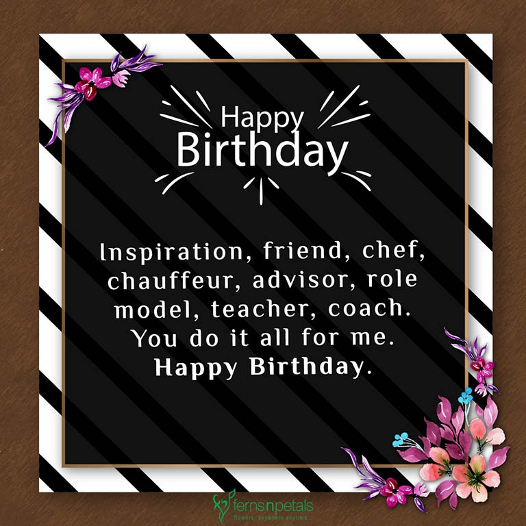 30+ Best Happy Birthday Wishes, Quotes & Messages - Ferns N