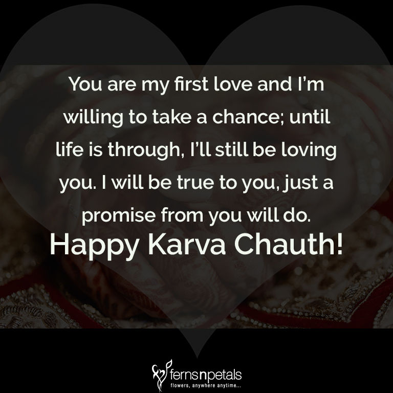 40 Unique Quotes And Messages To Wish Karwa Chauth Awesome Loving You Quote