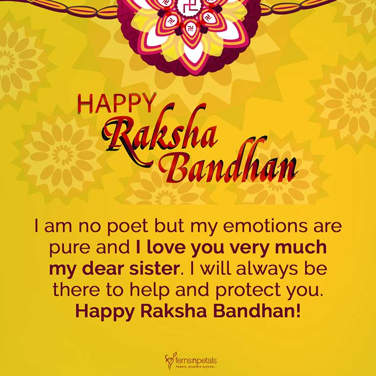 rakhi wishes for sister2