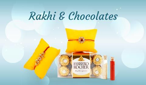 Rakhi with Chocolates to UK