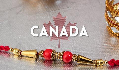 Rakhi to Canada