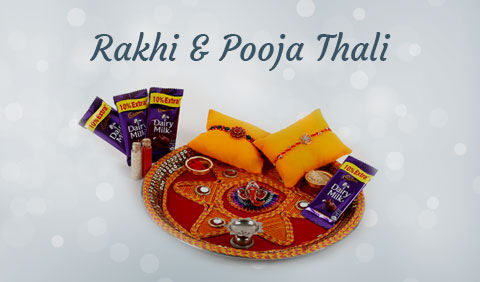 Rakhi Pooja Thali to UK