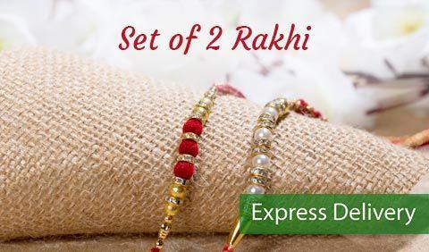 Set of 2 Rakhi