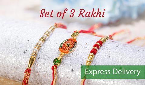 Set of 3 Rakhi