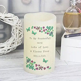 Personalised Candle to UK