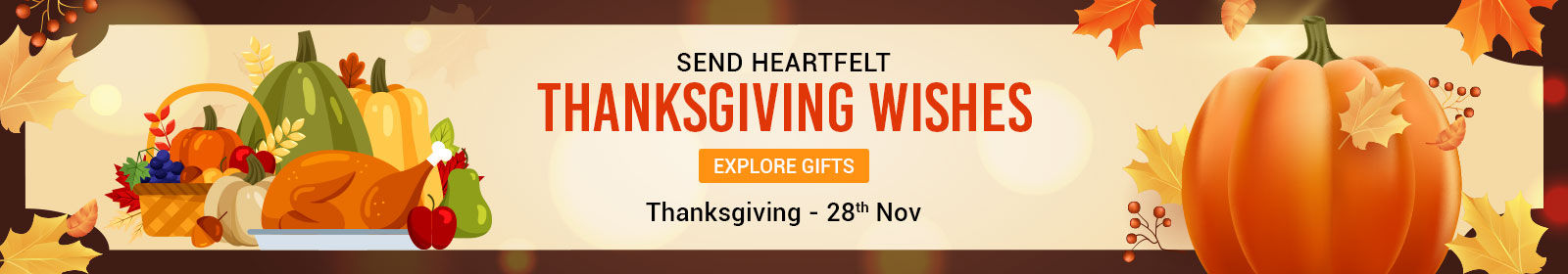 Send Thanksgiving Gifts Delivery to uk
