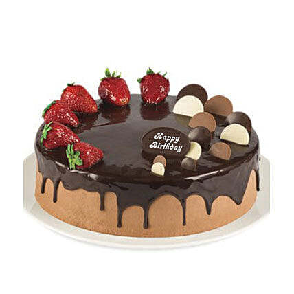 Cake delivery sydney online cakes delivered in sydney shop double chocolate strawberry cake cake delivery in sydney negle Images