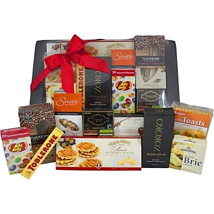 Send birthday gifts to canberra online from ferns n petals gourmet platter birthday gifts canberra negle Gallery