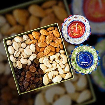 Mix Dry Fruit 400g With Traditional Diya