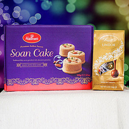 Soan Cake With Lindt Chocolate