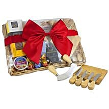 Send easter gifts to australia easter gift delivery ferns n petals cheese set picnic basket easter gifts to australia negle Image collections