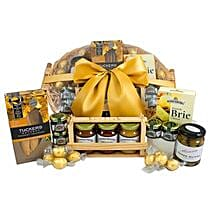 Send easter gifts to australia easter gift delivery ferns n petals gourmet sweet n savory hamper easter gifts to australia negle Image collections
