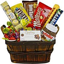 Gift hamper delivery in australia from india ferns n petals sweet favourites gift baskets in australia negle Image collections