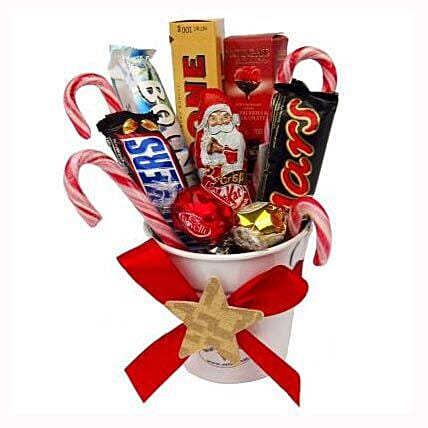 Sweet Christmas Bucket