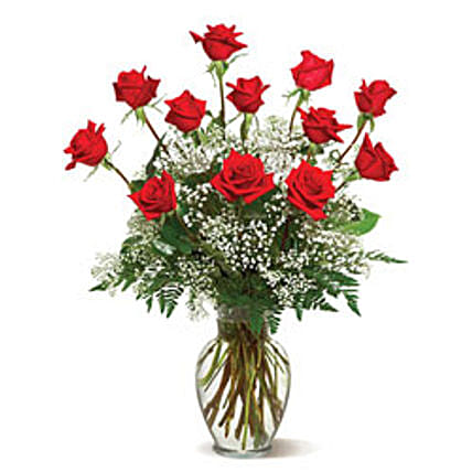 Send birthday gifts to vancouver gift delivery in vancouver a dozen deluxe roses birthday gifts to vancouver negle Image collections