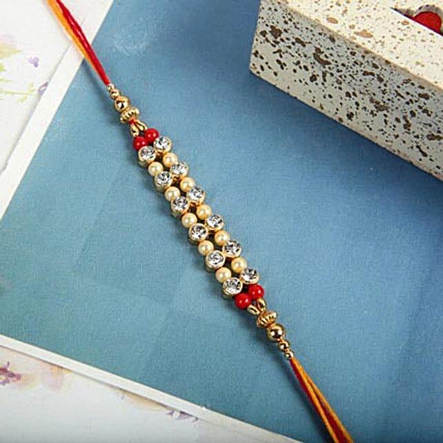 Beads of Love Rakhi