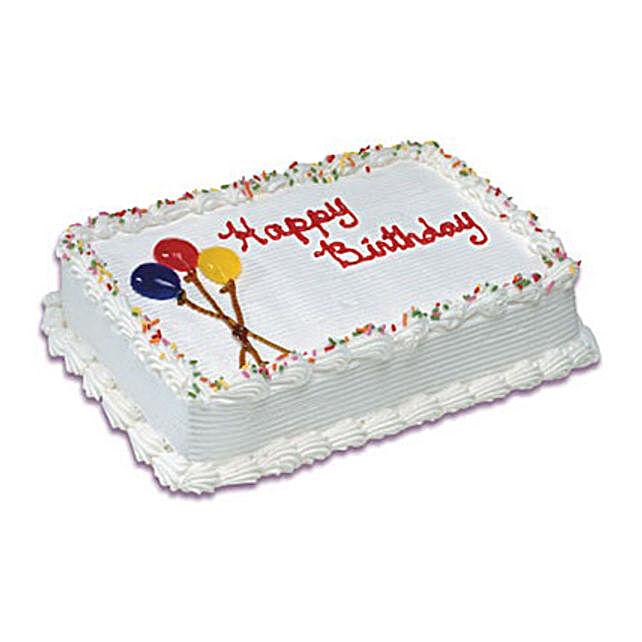 Birthday Special Vanilla Cake 1 Kg
