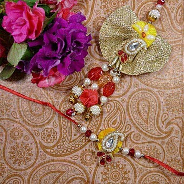 Colourful Bhaiya Bhabhi Rakhi