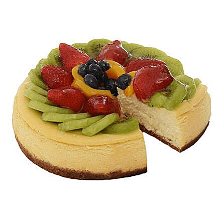 Fresh Fruit Cheese Cake