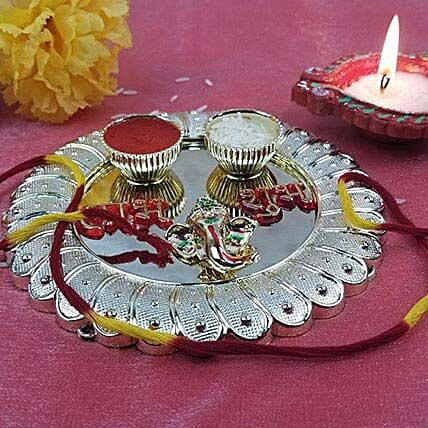 Gold Coated Fancy Thali