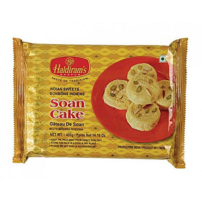 Haldiram Soan Cake 400 Gms