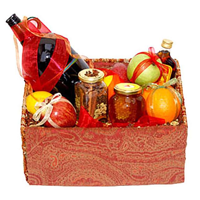 Mulled Wine Basket