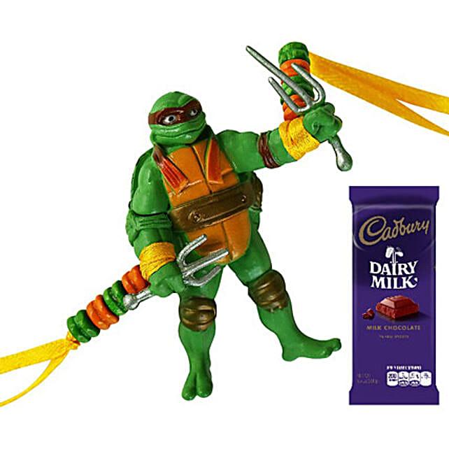 Ninja Turtle N Dairy Milk