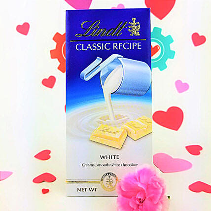 Scrumptious Lindt White Chocolate