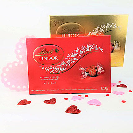 Valentine Special Lindt Chocolates