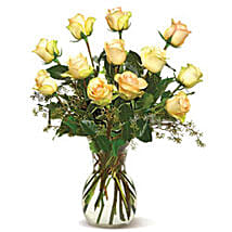Send easter gifts to canada easter gift delivery in canada a dozen cream roses cnd easter gifts to canada negle Gallery