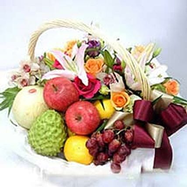 Flower fruit basket CIN