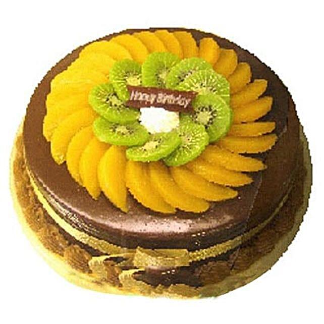 Fruity Chocolate Cake