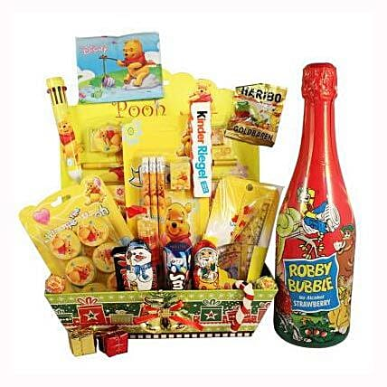 Pooh School Sweet Creative Set XL with Kids Champagne